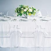Clear Acrylic Wedding Decor