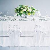 Clear Acrylic Wedding Decor