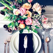 Feathers and Flowers for a Colorful Spring Wedding
