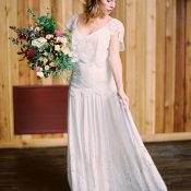 Boho Lace Wedding Dress from Rue de Seine