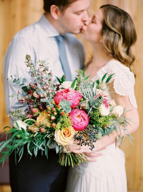 Colorful Bohemian Bouquet