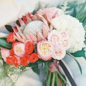 Colorful Modern Wedding Bouquet