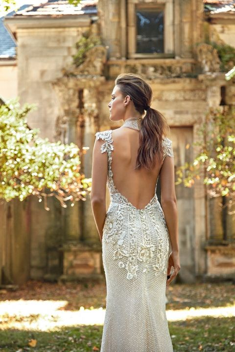 The Princess Bride Wedding Dress 57 Simple Dramatic Open Back Wedding