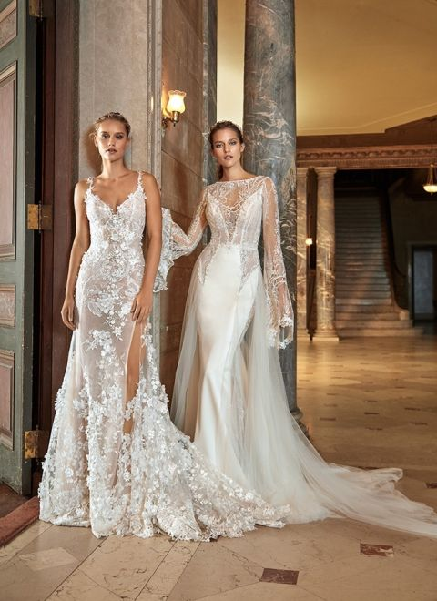 Elegant Illusion Gowns From Galia Lahav