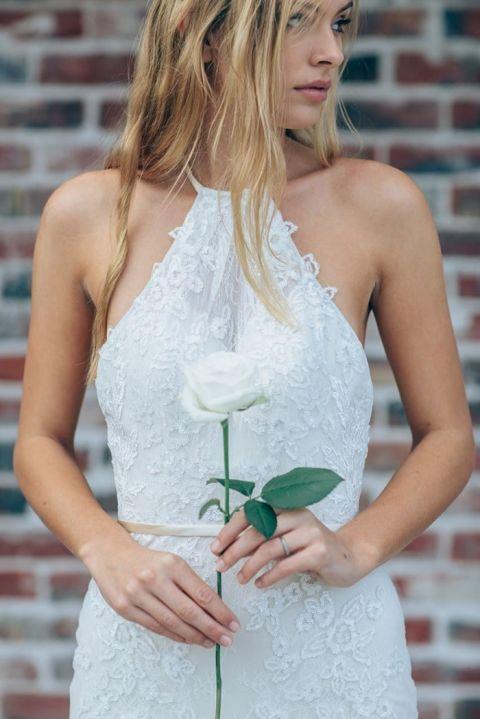 Lace Halter Wedding Dress 45 Fabulous Lace Halter Neck Dress