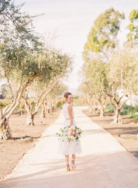 Modern Boho Bridal Style