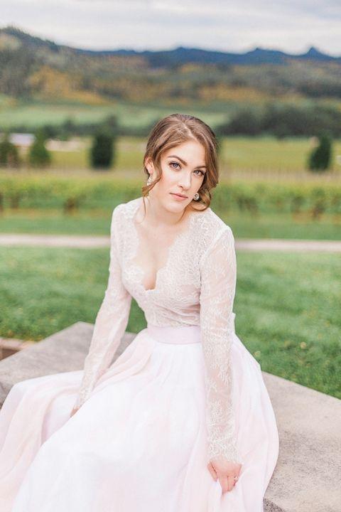 Wedding Dresses For Destination Wedding 79 Fabulous Blush Lace Wedding Dress