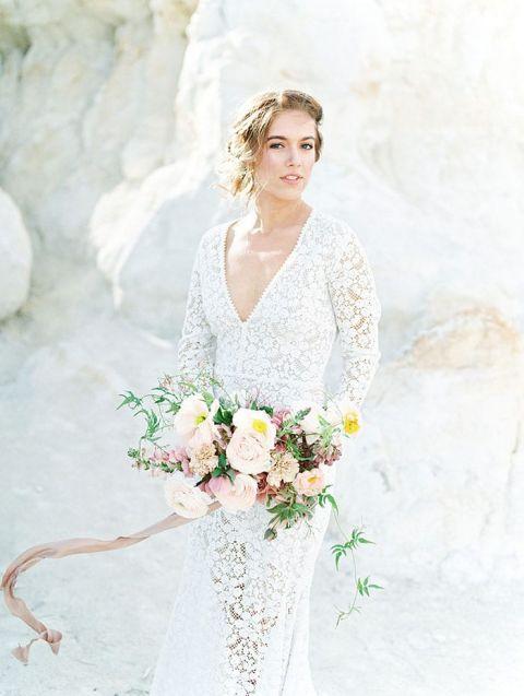 Elope Wedding Dress 31 Great Dreamy Boho Bride with
