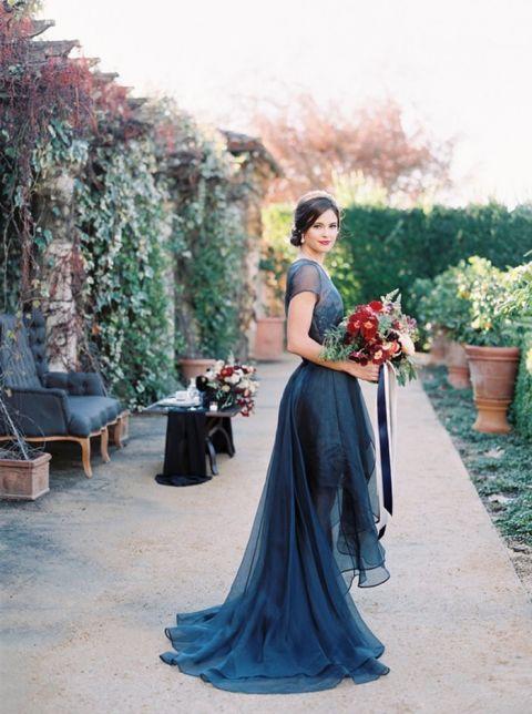 Reception Dress Wedding 66 Best Midnight Blue Wedding Reception