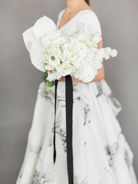 A fresh take on a black and white wedding hey wedding lady a fresh take on a black and white wedding mightylinksfo