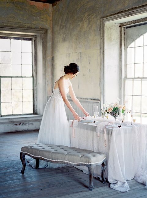 French Antique Inspired Bridal Shoot in Texas - Hey Wedding Lady