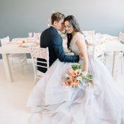 Luminous Spring Bridal Shoot