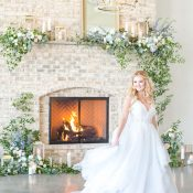 Dreamy Layered A-Line Wedding Dress from Hayley Paige