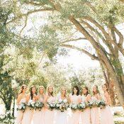 Chic Peach Bridesmaid Dresses