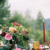 Colorful Organic Wedding Flowers