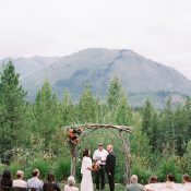 Stunning Natural Park Elopement Ceremony