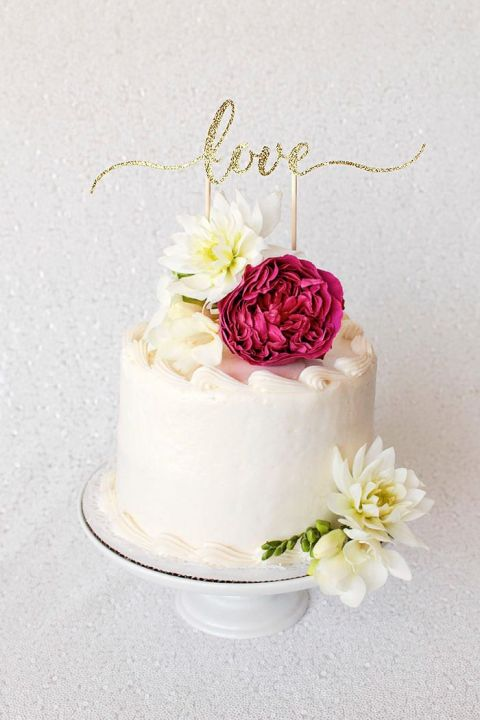 Diy Cake Topper Tutorial With Cricut Hey Wedding Lady