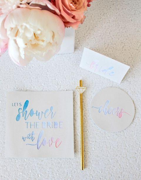 Cricut Wedding Invitations 95 Perfect The DIY Unicorn Bridal
