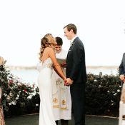 Elegant Lakeside Wedding Ceremony
