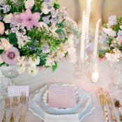 Dreamy Lilac French Wedding Inspiration