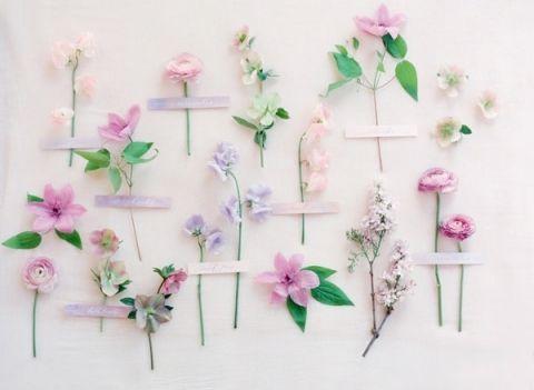 Purple Spring Wedding Flowers
