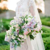 Organic Lilac Garden Bouquet