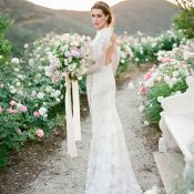 Southern California Wedding with Old World French Style