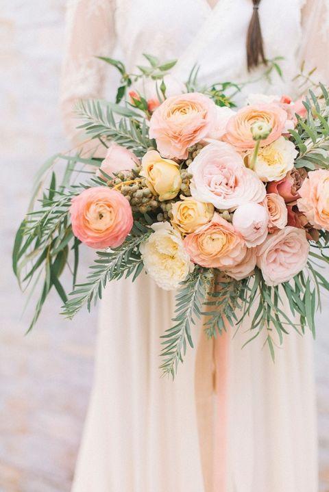 Coral Wedding Ideas 32 Good Dip Dye Wedding Ideas