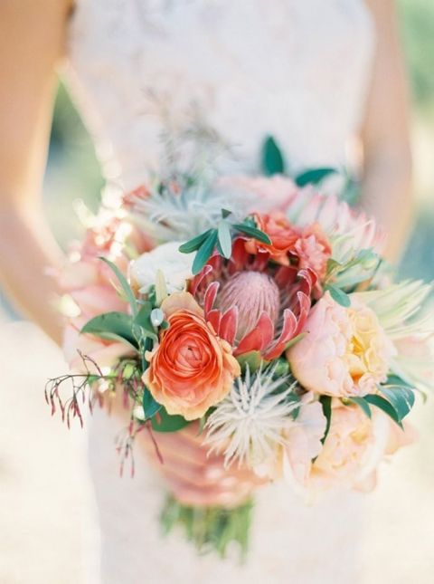 Southwest Inspired Protea Bouquet