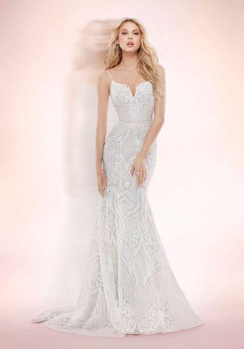 Blush Wedding Dresses 95 Cool Nude Sequin Wedding Dress