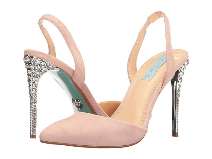 df817a4521b blush-suede-wedding-shoes-jeweled-heel