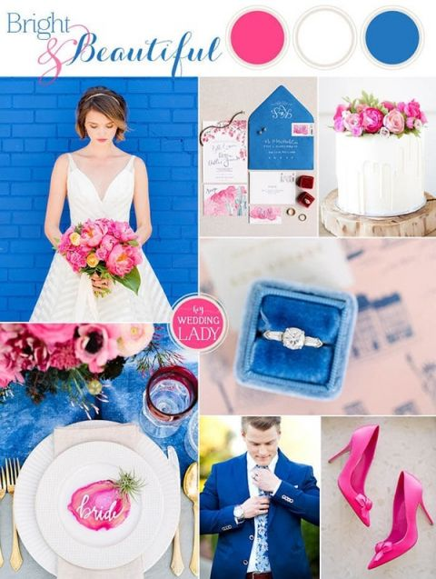 Find Your Summer 2017 Wedding Color Style - Hey Wedding Lady