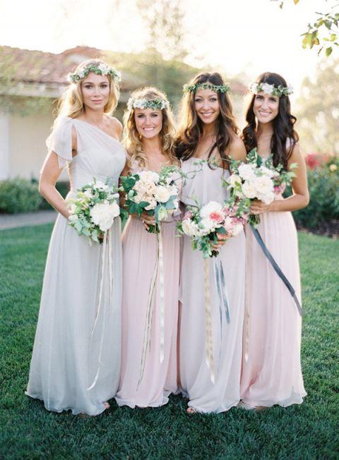 Garden Wedding Bridesmaid Dresses 6 Unique Creative Garden Wedding with