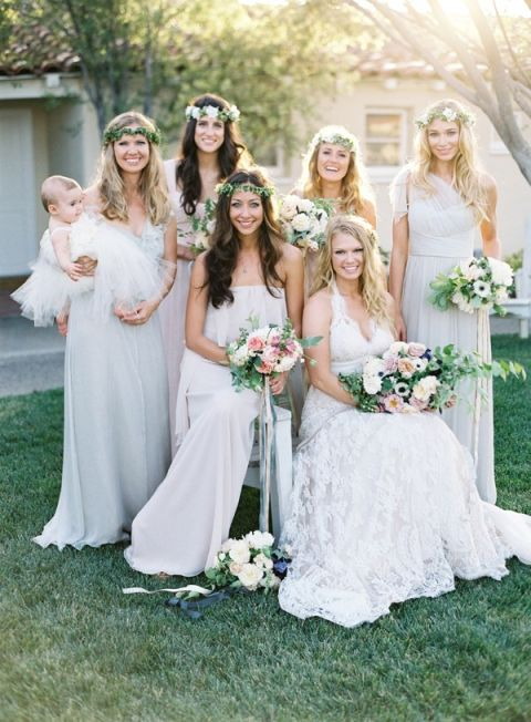 Garden Wedding Bridesmaid Dresses 40 Simple Creative Garden Wedding with