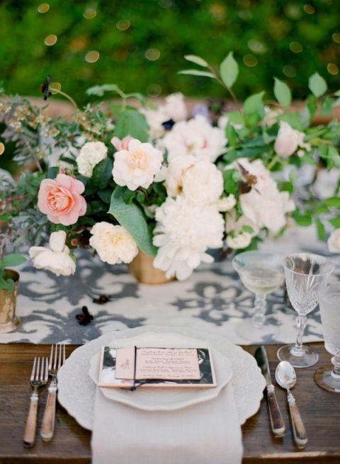 Creative Garden Wedding With A Modern Twist