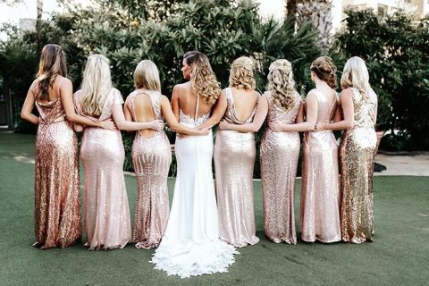 5 Sequin Bridesmaid Dresses For Any Wedding Hey Wedding Lady
