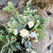 Southern Greenery Bridal Bouquet