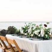 Southern Hospitality Wedding Decor for a Coastal Elopement