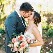 Elegant Vineyard Wedding Photos