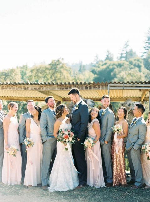 Emejing Gold And Grey Wedding Contemporary - Style and Ideas ...