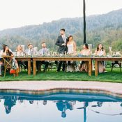 Summer Wedding at a Private Estate in the Santa Cruz Mountains