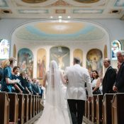 Classic Southern Church Wedding Ceremony