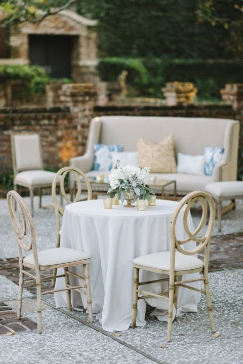 Black Tie Glam Wedding With Southern Style