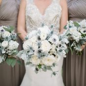 Black and White Wedding with Shades of Gray