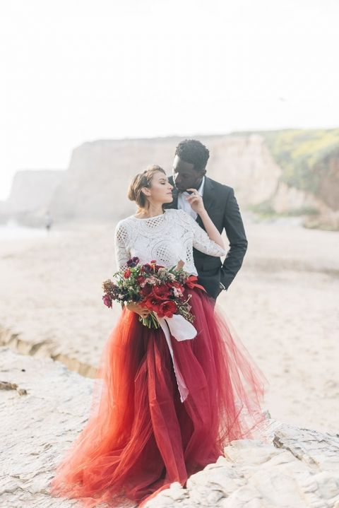 White And Red Wedding Gown 97 Elegant White Sand Beaches and