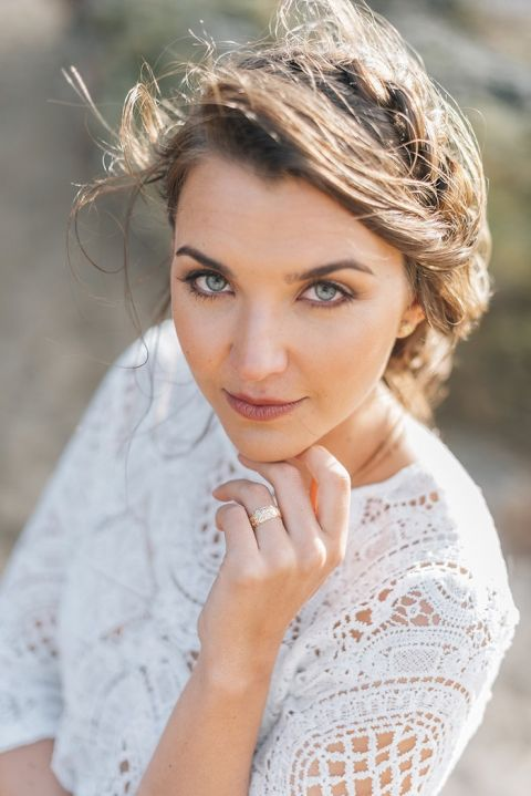 Luminous Summer Bridal Makeup