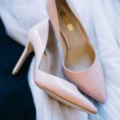 Blush Pink Wedding Shoes
