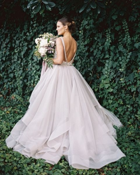97ff4ace0bb Enchanted Garden Wedding Ideas in Opal and Lavender ...