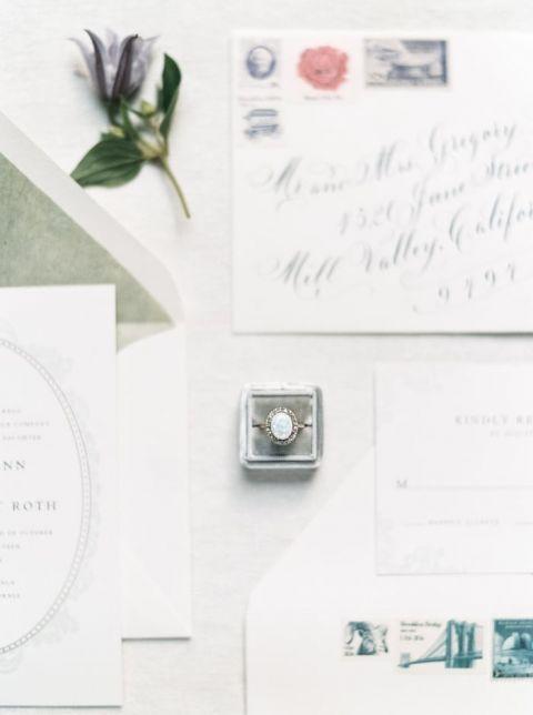 Elegant Vintage Wedding Details