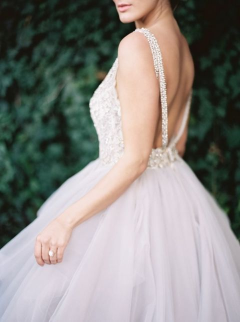 Wedding Dress Lavender